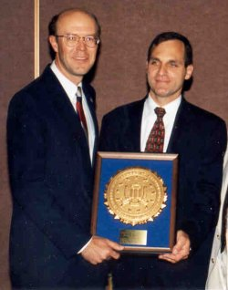 Commissioner Anthony and FBI Director Louis J. Freeh